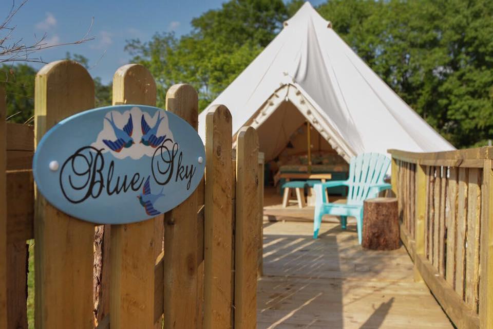 Blue Sky Bell Tent
