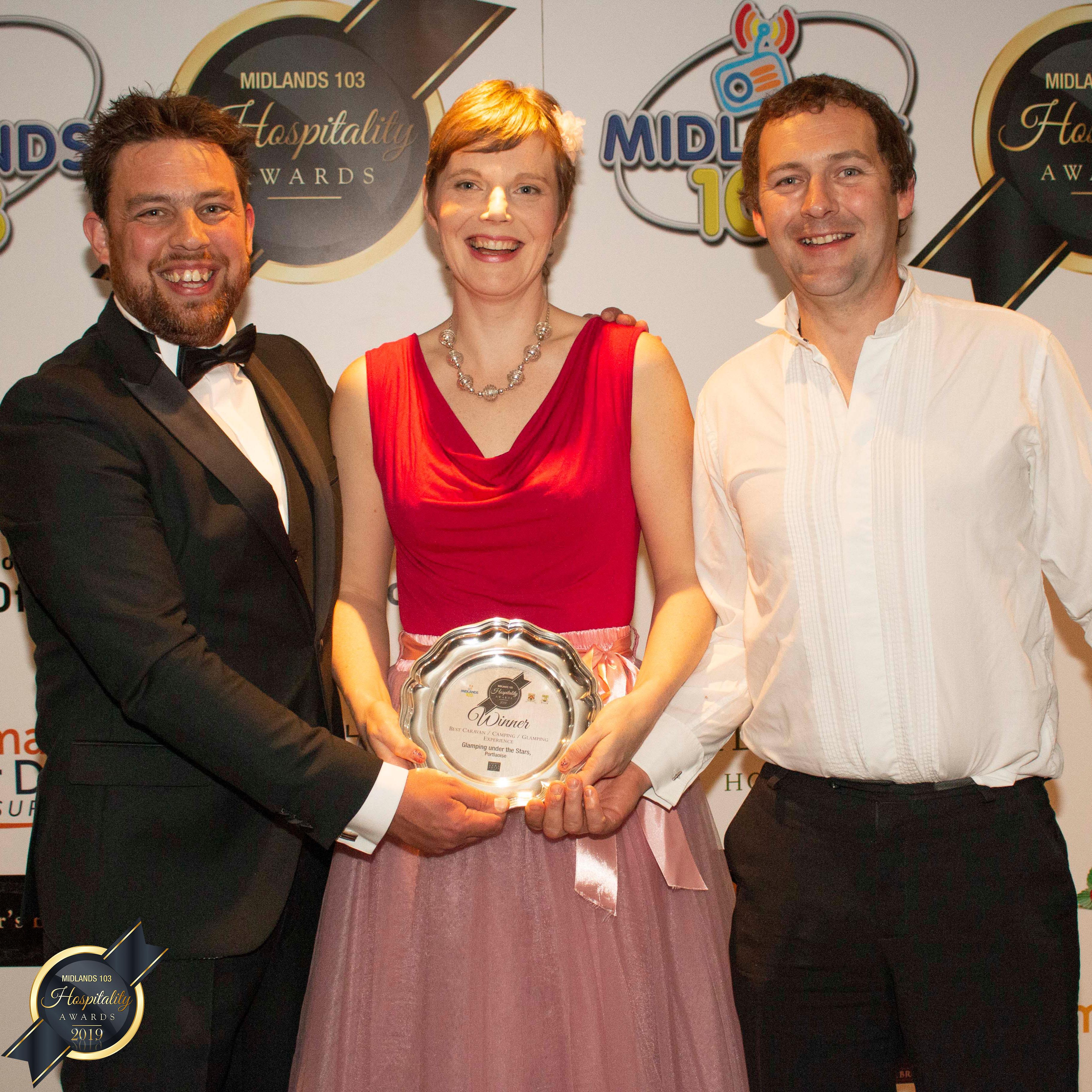 Glamping Under the Stars Wins Hospitality Award!