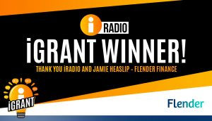 Glamping Under The Stars Wins iRadio iGrant